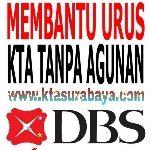 Pengurusan aplikasi KTA DBS